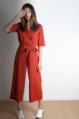 Renee Culotte Romper - The Bold