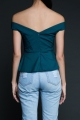 Tara Peplum Top - The Bold