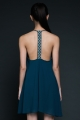Desirae Low-Back Dress - The Bold