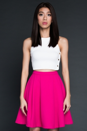 Tanae Crop Top - The Pure