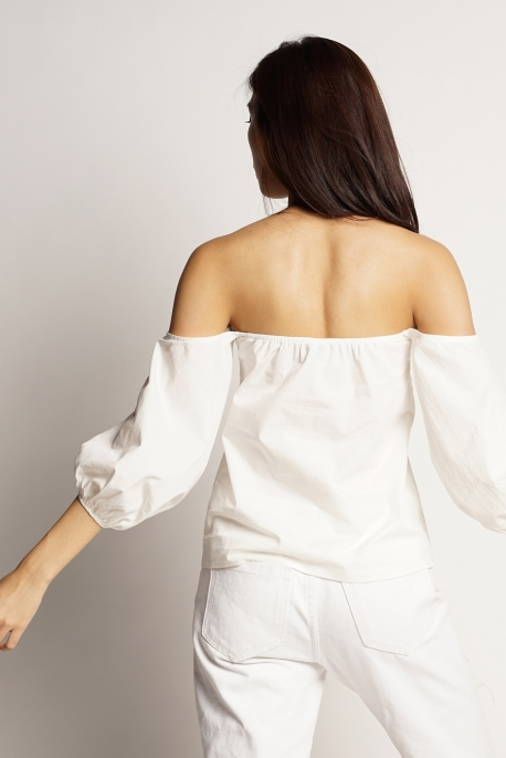 Tabitha Off-Shoulder Top - The Pure